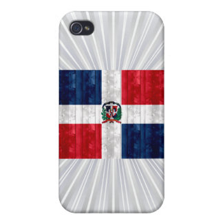 Wooden Dominican Flag iPhone 4/4S Covers