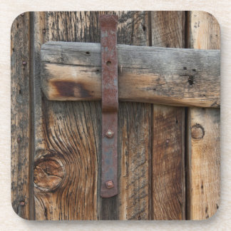 Wooden door close-up, California Coaster