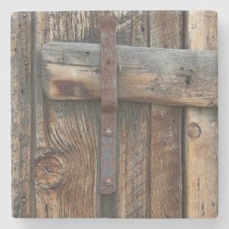 Wooden door close-up, California Stone Coaster