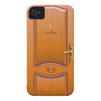 Wooden Door Look iPhone 4 Cover