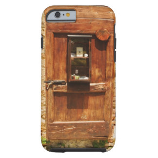 Wooden door of a house, Monteriggioni, Siena Tough iPhone 6 Case