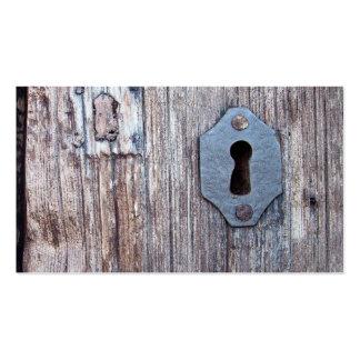 Wooden Door Pack Of Standard Business Cards