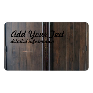 wooden double doors pack of standard business cards