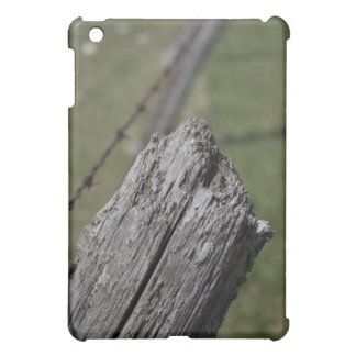 Wooden Fence Post iPad Case