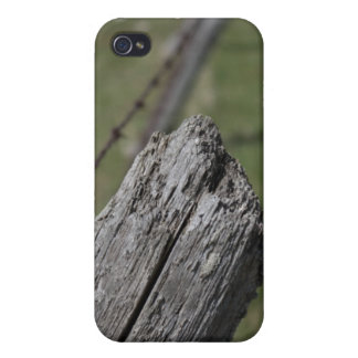 Wooden Fence Post iPhone Case iPhone 4 Cases