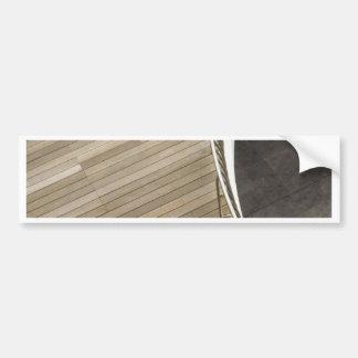 Wooden flooring bumper stickers