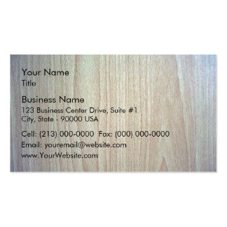 Wooden furniture design texture business cards