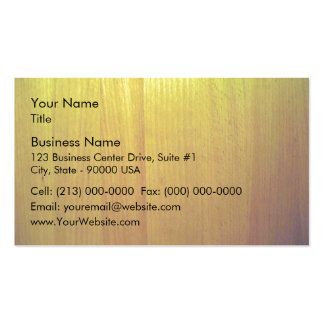 Wooden furniture with various shades of yellow business card templates
