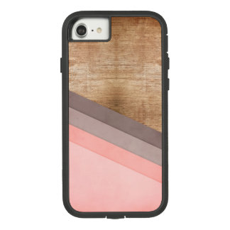 Wooden geometric art Case-Mate tough extreme iPhone 8/7 case