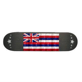 Wooden Hawaiian Flag Skate Board Decks
