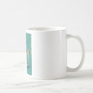 Wooden horse coffee mug