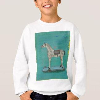 Wooden horse sweatshirt