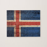 Wooden Iceland Flag Puzzles