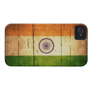 Wooden Indian Flag iPhone 4 Case-Mate Case