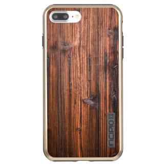 Wooden iPhone 7 Plus DualPro Shine, Gold Incipio DualPro Shine iPhone 8 Plus/7 Plus Case