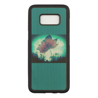 Wooden Leaf Phone Case