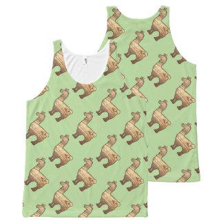 Wooden Llama Tank Top Pattern