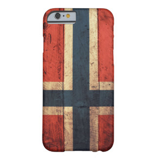 Wooden Norway Flag Barely There iPhone 6 Case