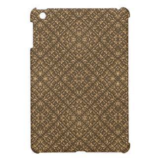 Wooden Ornamented Pattern iPad Mini Cases