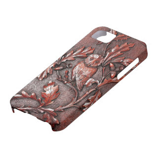 wooden owl iphone barely there iPhone 5 case