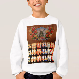 Wooden painted clogs, Holland 2 Sweatshirt