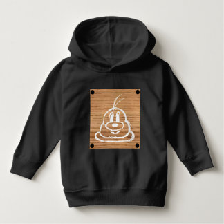 Wooden Panel 鮑 鮑 Toddler Pullover Hoodie 1