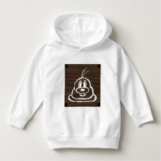 Wooden Panel 鮑 鮑 Toddler Pullover Hoodie 3