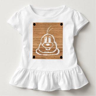 Wooden Panel 鮑 鮑 Toddler Ruffle Tee 1