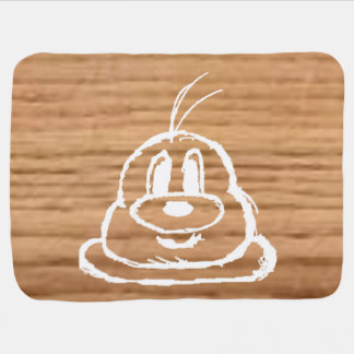 Wooden Panel 鲍 鲍 Baby Blanket 2