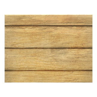 Wooden Panel Texture 21.5 Cm X 28 Cm Flyer