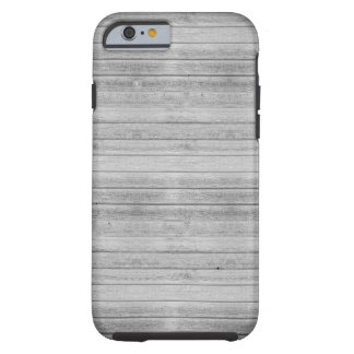 Wooden planks in grey color tough iPhone 6 case