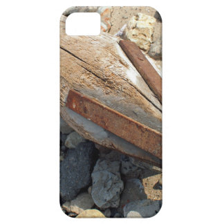 Wooden pole with an iron tip at a construction sit case for the iPhone 5