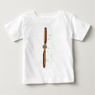 Wooden Propeller Schematic Prop Plane Baby T-Shirt