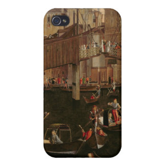 Wooden Rialto Bridge, from the Miracle of the Reli iPhone 4 Cases