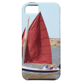 Wooden sail boat iPhone 5 covers