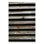 Wooden shades poster