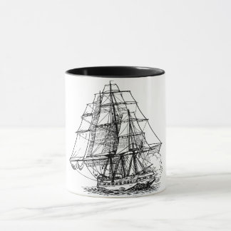 Wooden ship cup