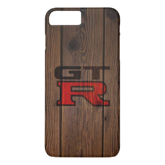 Wooden Simulated GT-R iPhone 8 Plus/7 Plus Case