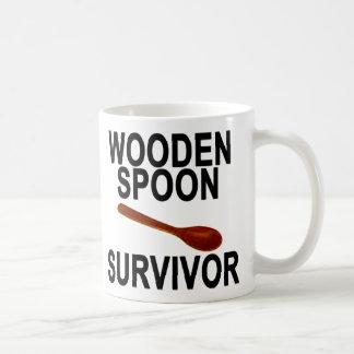WOODEN SPOON SURVIVOR COFFEE MUG