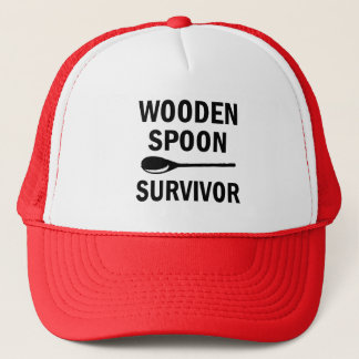 Wooden spoon survivor funny hat