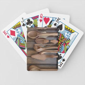 Wooden Spoons Poker Deck