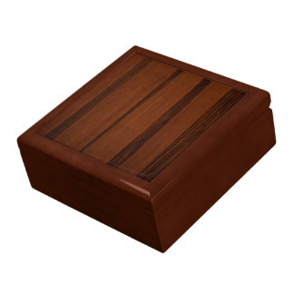 Wooden style large square gift box