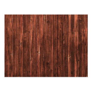 Wooden Style Postcard