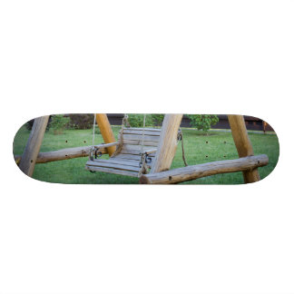 Wooden swings 21.3 cm mini skateboard deck