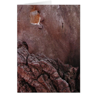 Wooden Tears Greeting Card