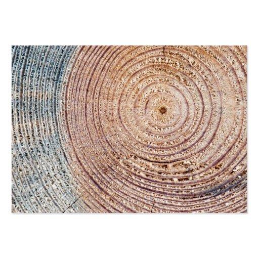 Wooden texture business card