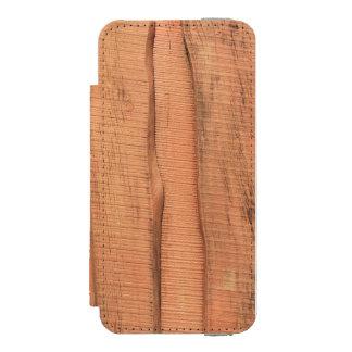 Wooden texture incipio watson™ iPhone 5 wallet case