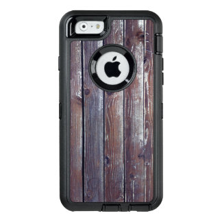 Wooden texture OtterBox defender iPhone case