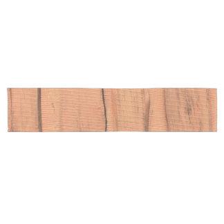 Wooden texture short table runner