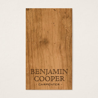 Wooden Texture - Style B Business Card